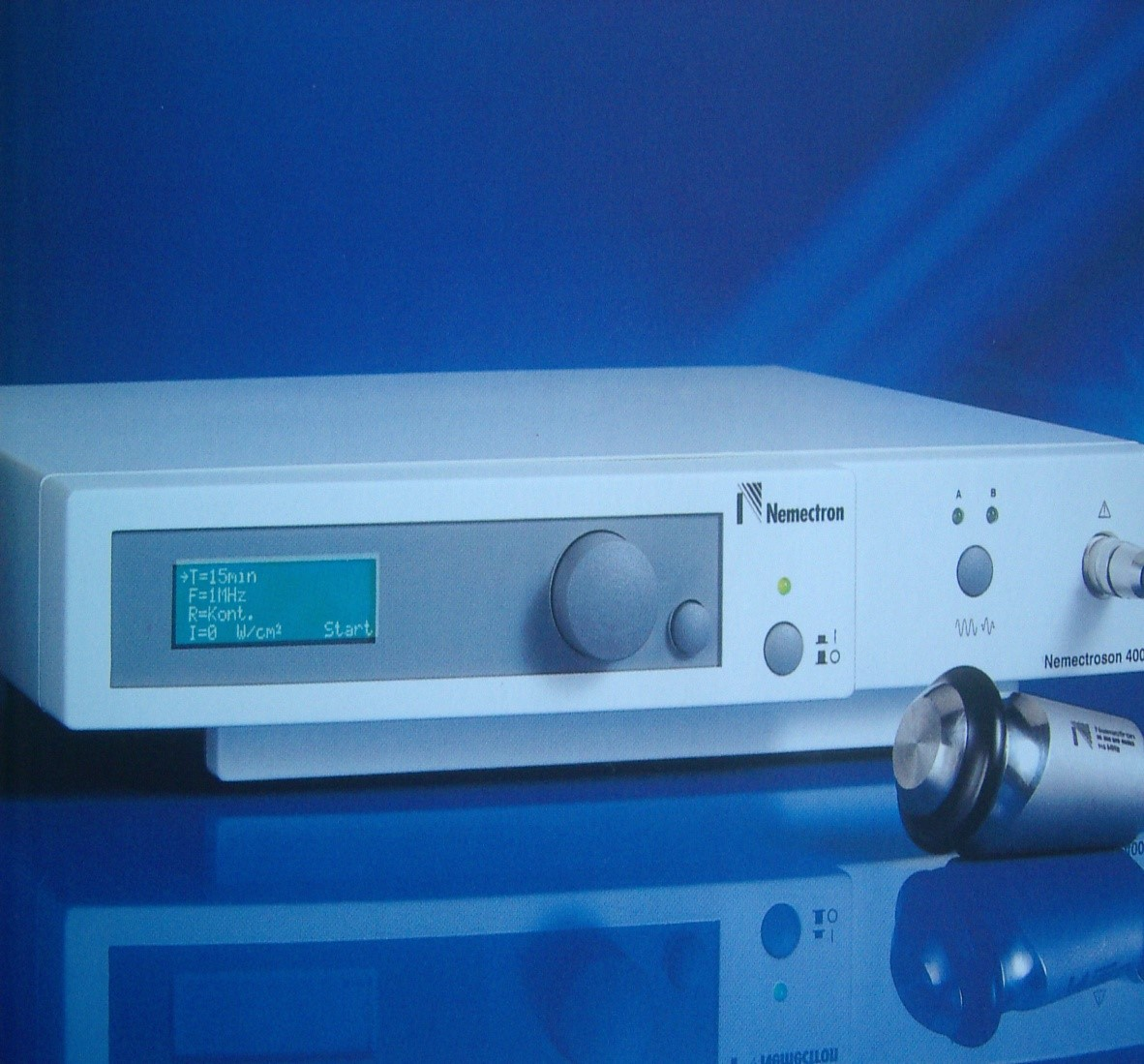The new technology of ultrasonic therapeutic devices with high efficiency treatment of more than 300 diseases